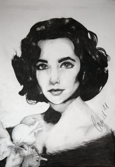 Elizabeth Taylor by SweetSophie